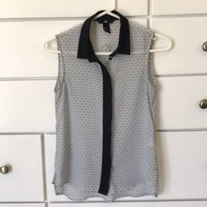Patterned H&M Top